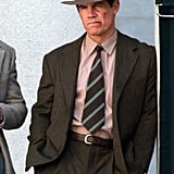 Josh Brolin was in LA shooting Gangster Squad.