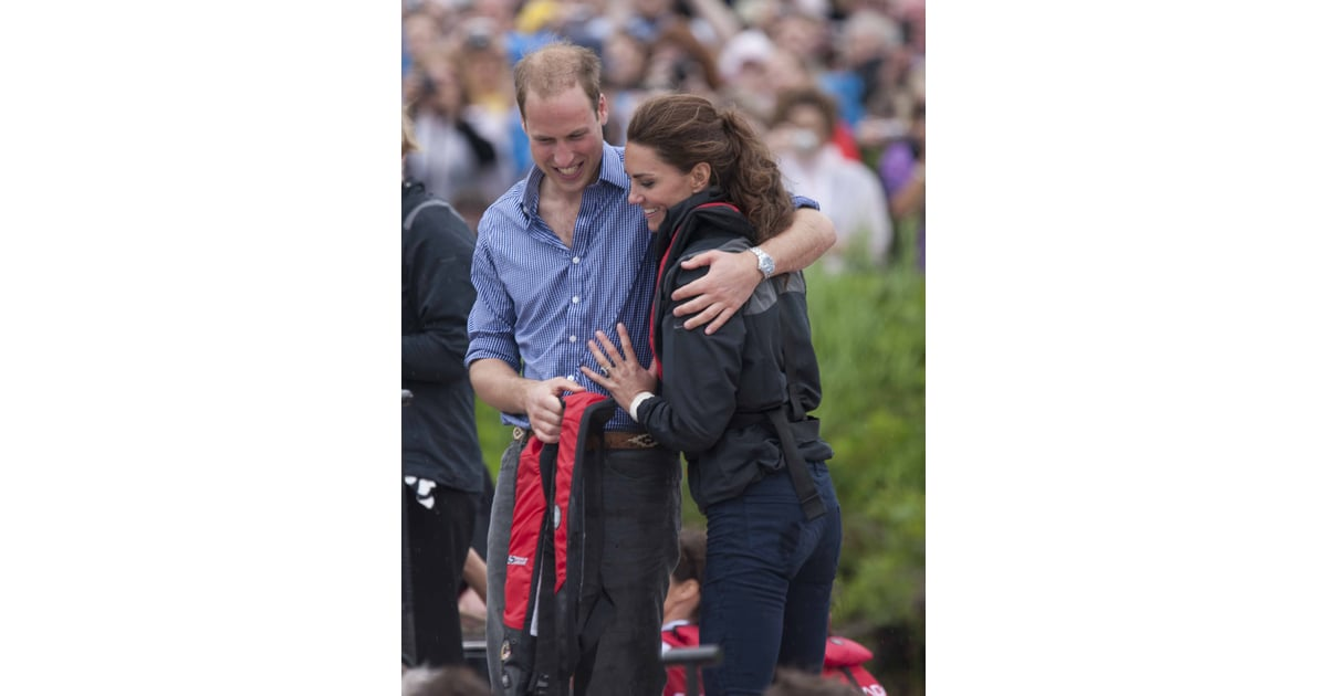 Prince William Touching Kate Middleton's Back Pictures ...