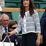 Pippa Middleton attended Wimbledon 2012.