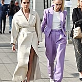 Cara Delevingne and Ashley Benson's Outfits in Milan