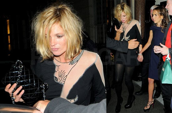 Photos of Kate Moss's Wild Night Out