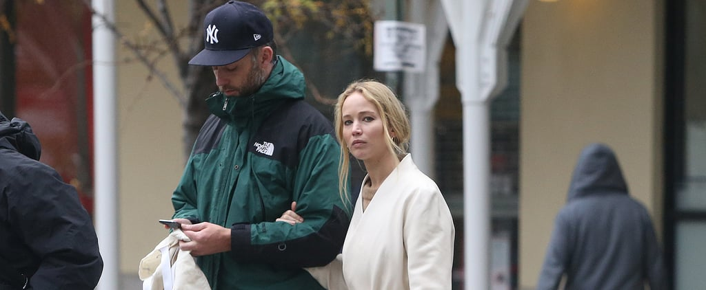 Jennifer Lawrence's Simple Silver Wedding Band Is Beautiful