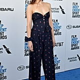 Dakota Johnson at the 2019 Independent Spirit Awards