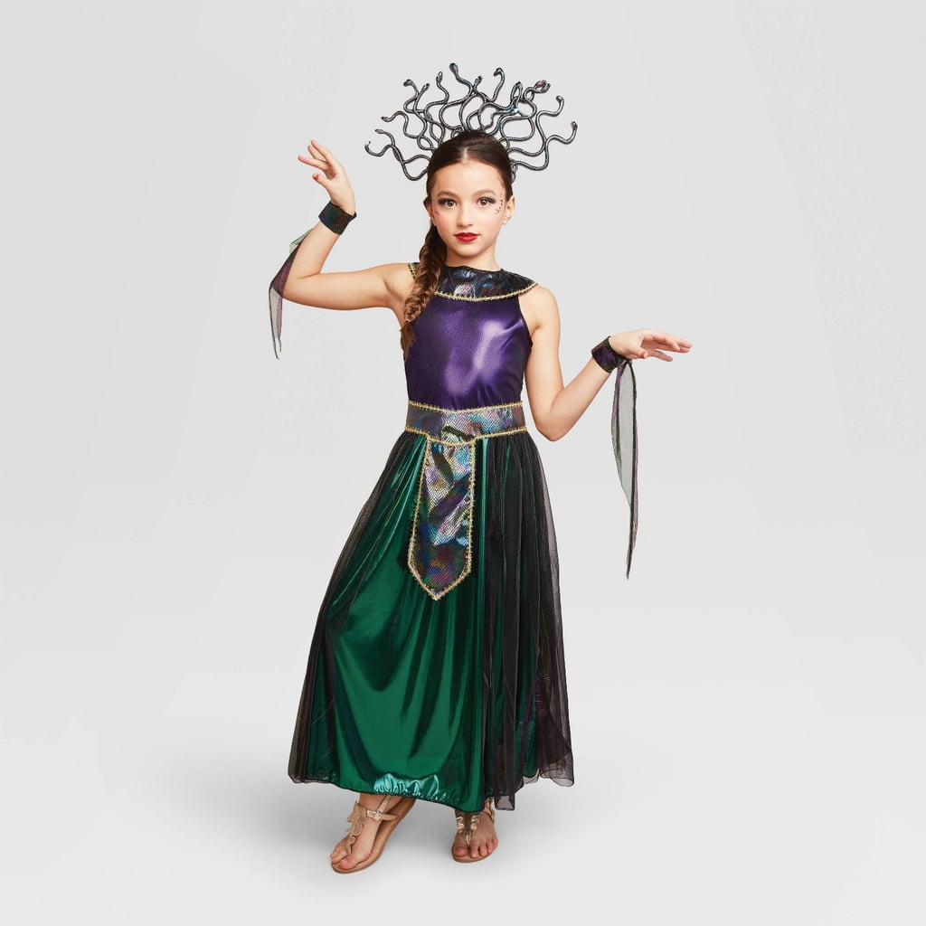 A Mythical and Bewitching Find: Hyde & EEK! Boutique Kids' Medusa Halloween Costume Dress