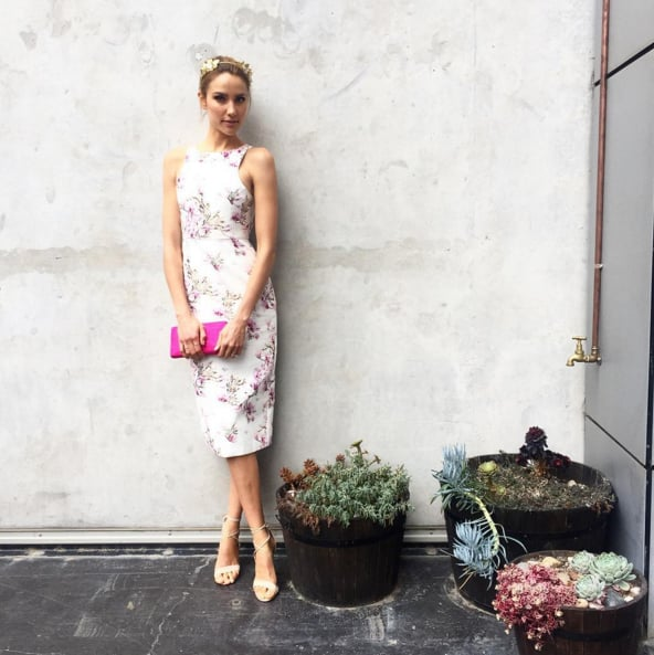 Celebrity Style Pictures At The Caulfield Cup 2015