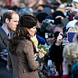 The British Royals on Christmas Day 2014   Pictures