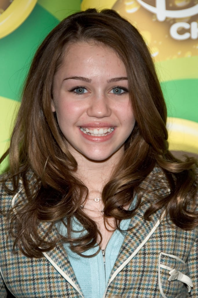 Miley Cyrus at The Disney Channel 2006 Winter UpFront in February 2006