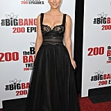 Kaley looked like a princess in her sexy-yet-romantic Marchesa gown.