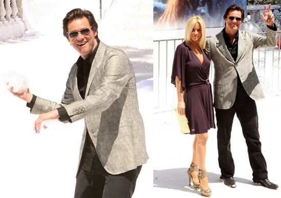 Photos of Jim Carrey and Jenny McCarthy at a Photo Call For A Christmas Carol at the 2009 Cannes Film Festival