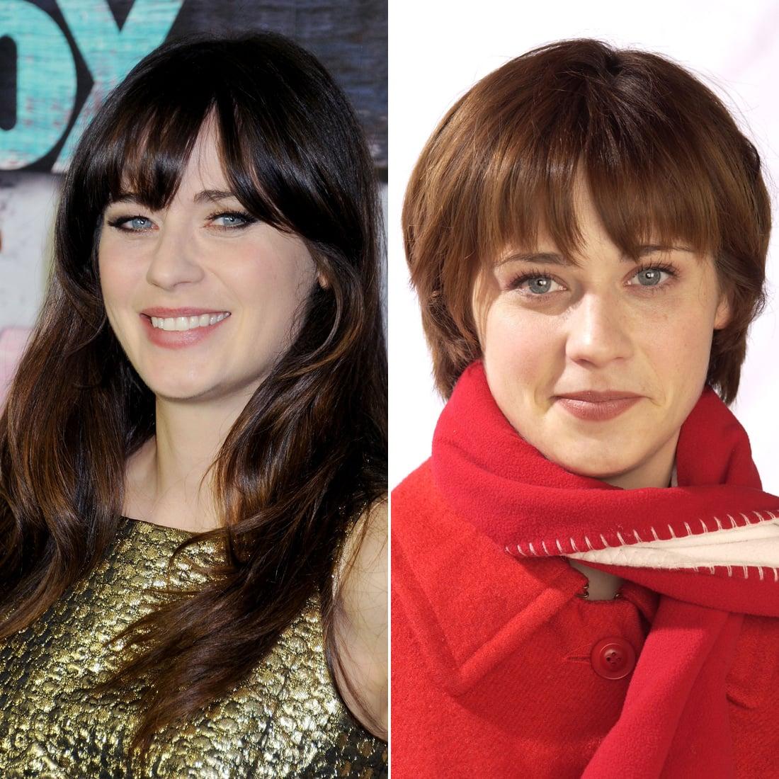 Zooey Deschanel Do These Celebrities Look Better With Long Or Short Hair Popsugar Beauty Photo 5