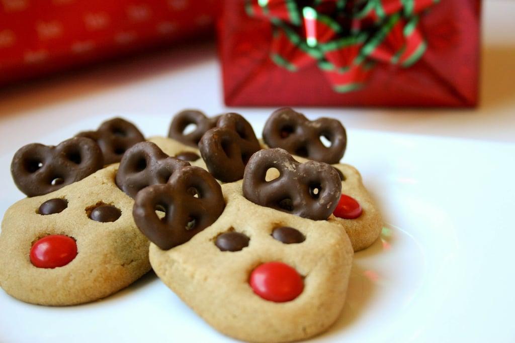 Peanut Butter Reindeer Cookies Christmas Cookie Exchange Recipes