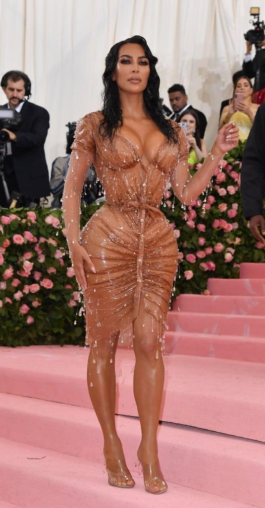Kim Kardashian at the 2019 Met Gala   Sexiest Met Gala ...