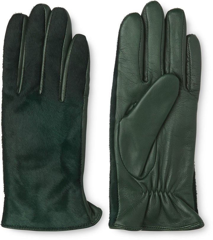 Whistles Pony Front Leather Glove (£65)