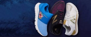 Feel Like a Beauty While Going Into Beast Mode in New Balance's Latest Disney Shoes