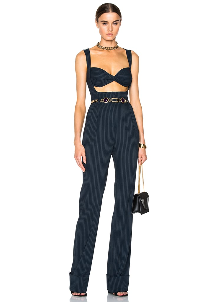 Alessandra Rich Pinstripe Jumpsuit ($2,729)