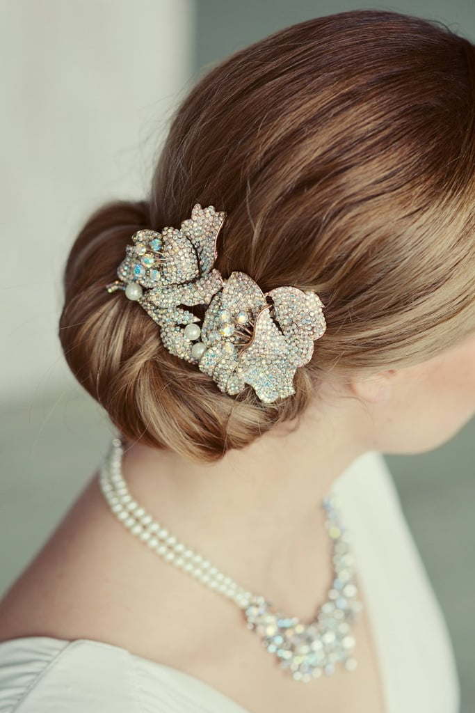 hair style for flower 40 bridal hair accessories from etsy popsugar 9146