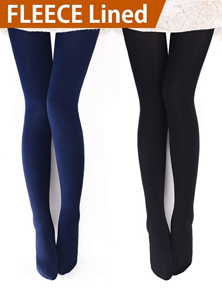 Vero Monte Opaque Warm Fleece Lined Tights