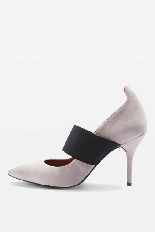 Gin Elastic Strap Court Shoes, $129.95