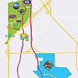 A Map of the Universal Orlando Resort