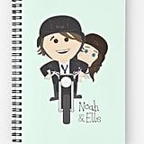 Noah, Elle & Motorbike Notebook