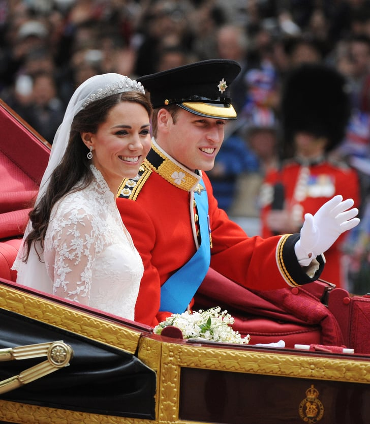 Wedding Family Picture Guide: Prince William Beamed On His Wedding Day, April 29, 2011