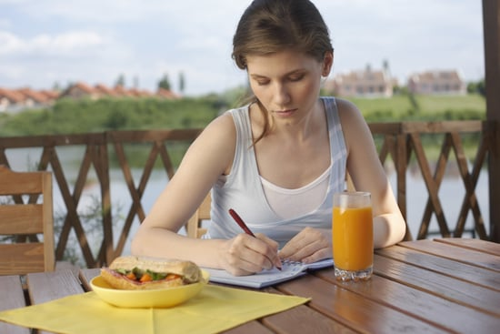 tips for keeping a food diary popsugar fitness