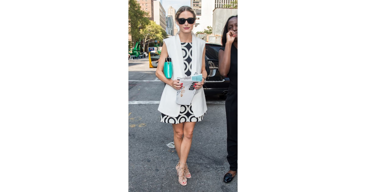 New York Fashion Week From Nyfw To Lfw Olivia Palermo 39 S Front Row Spot Is Well Deserved
