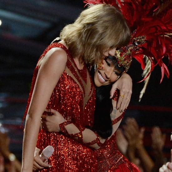 Taylor Swift and Nicki Minaj Performing Together at the VMAs