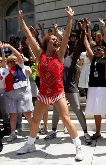 Richard Simmons Might Run For Office to Fight Child Obesity