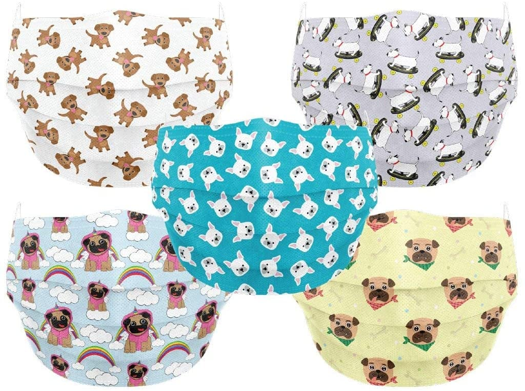 Co.Protect Premium 3-Layer Kids' Face Masks —Puppy