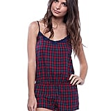 Plaid Jumpsuit ($15)