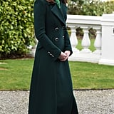 Kate Middleton Wearing a Green Outfit in Ireland