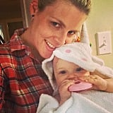 Did Busy Philipps catch a unicorn? No! It's just her baby daughter Cricket.  Source: Instagram user busyphillips