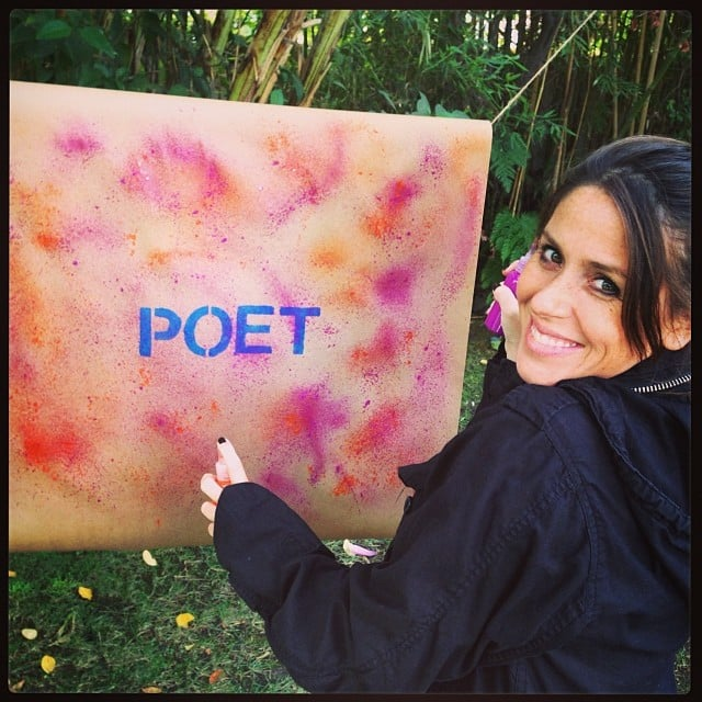 Soleil Moon Frye had a DIY surprise for her daughter. Source: Instagram user moonfrye