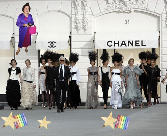 International Herald Tribune Writer Suzy Menkes Shares Her Tips On Crashing a Fashion Show