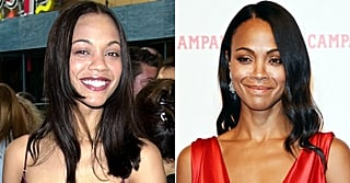 Zoe Saldana Looks the Same as She Did 18 Years Ago, and We're Dying to Know Her Secret