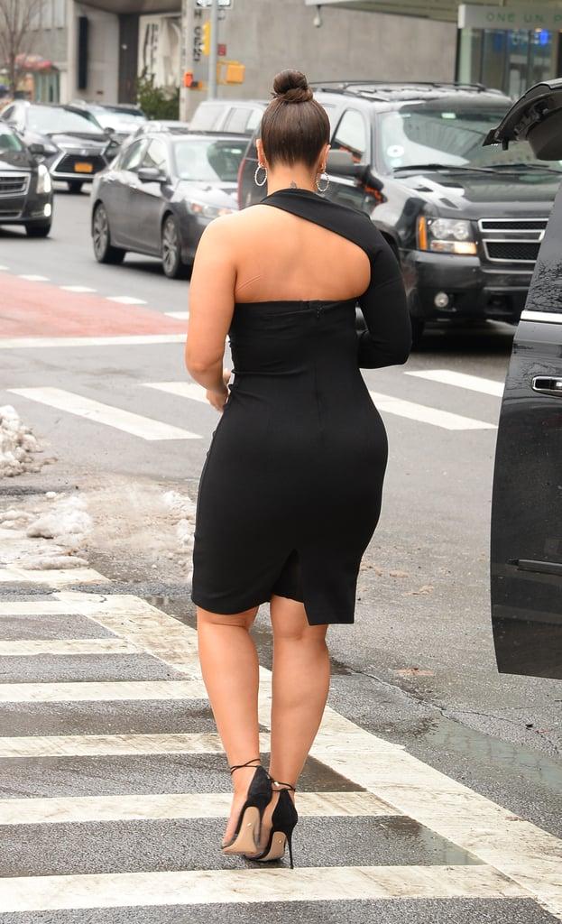 Ashley Graham's Bianca and Bridgett Black Dress