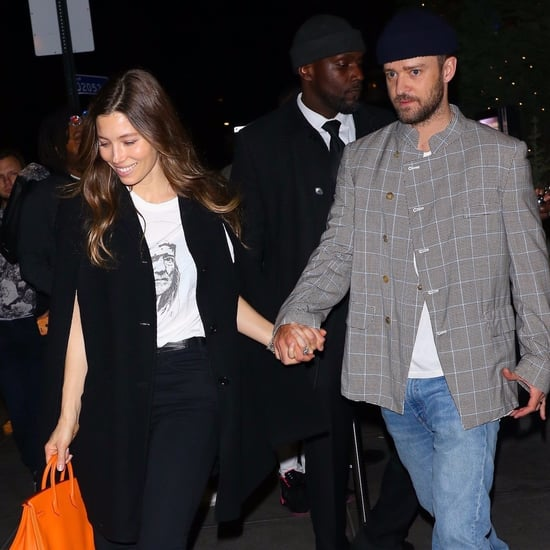 Justin Timberlake and Jessica Biel Holding Hands NYC 2019