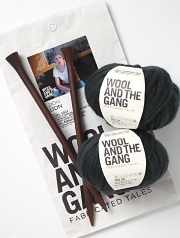 Wool and the Gang Zion Hat Knitting Kit ($85)