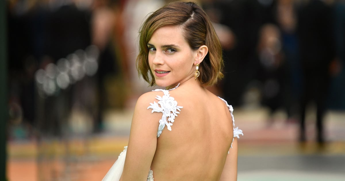 Emma Watson Hits the Red Carpet For the First Time in Ages in Gender Fluid Label Harris Reed