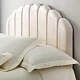 Ariel Channel Tufted Queen Headboard