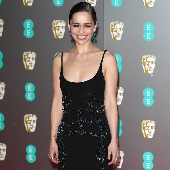 BAFTAs 2020: Emilia Clarke's Black Schiaparelli Dress