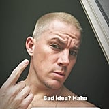 Channing Tatum's Bright Blonde Hair
