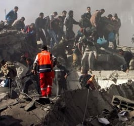 Israeli Attacks in Gaza Strip Continue