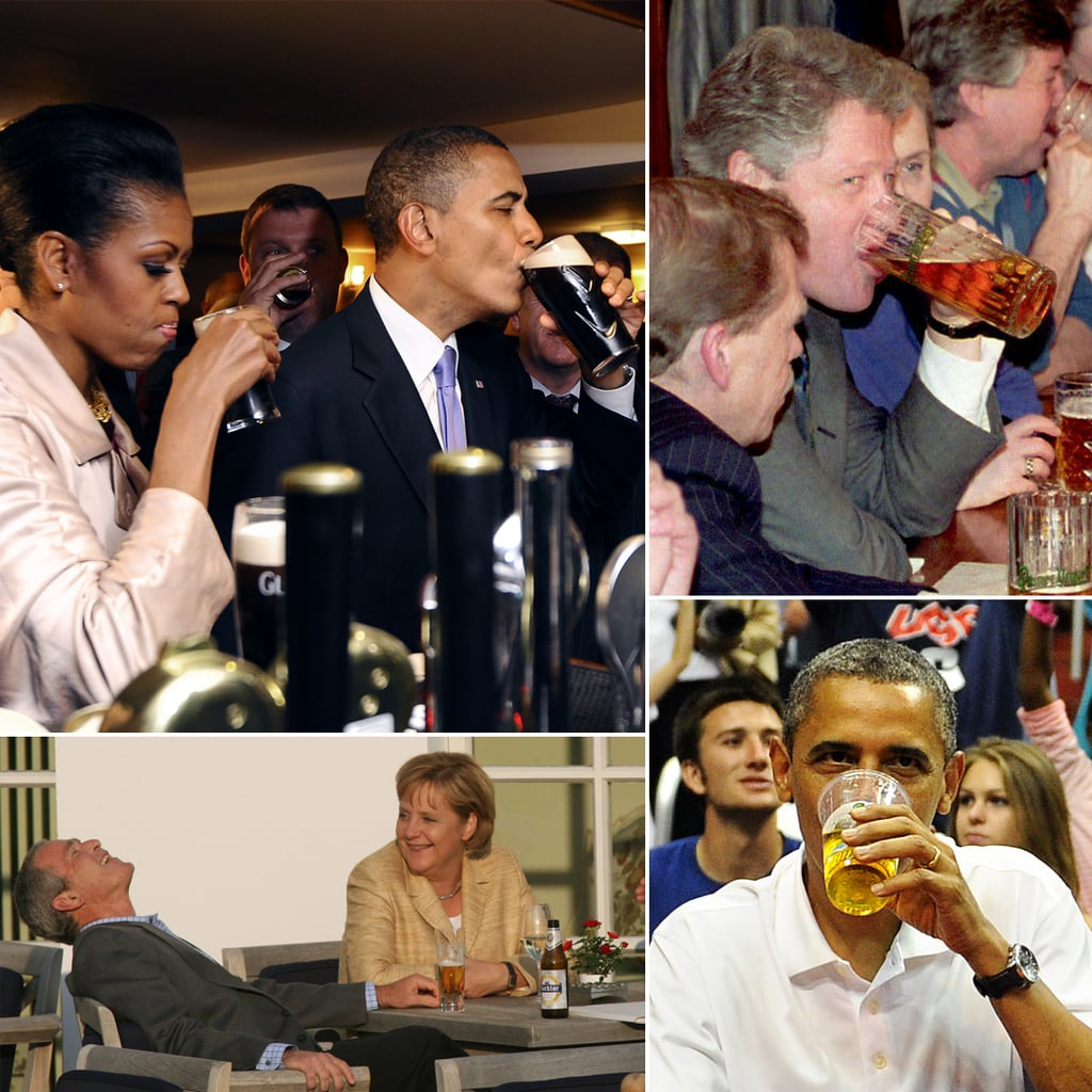 Power Hour: Political Figures Drinking Beer