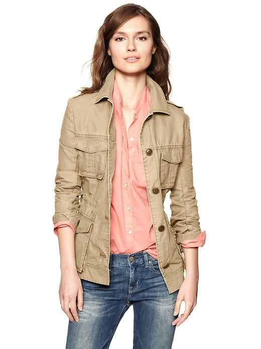 A classic utility jacket that comes in at the perfect price point. Gap Canvas Military Jacket ($80)