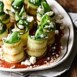 Grilled Zucchini Roll-Ups With Feta