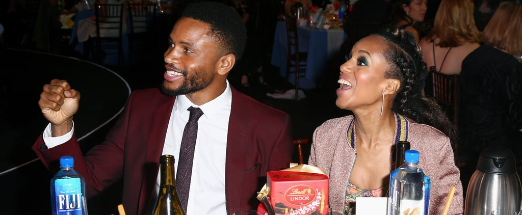 Kerry Washington and Nnamdi Asomugha Have a Sweet Date Night at the Spirit Awards
