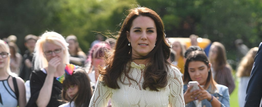 When the Sunlight Hits The Duchess of Cambridge's Dress, It Looks Absolutely Beautiful