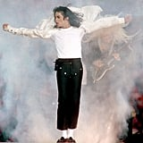 "Michael Jackson performed ""Heal the World"" in 1993 in Pasadena."